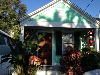 Photo for Quaint Conch House Located In Historic Bahama Village.