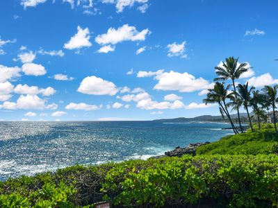 Photo for Experience Magnificent Sunrises and Sunsets in Sunny Poipu! Cool End Unit!