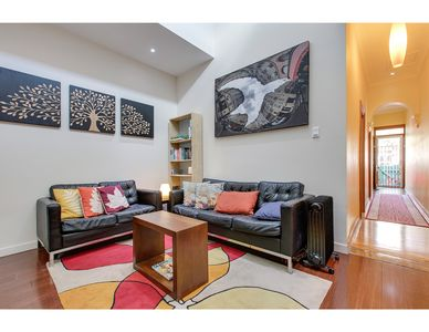 Photo for Bright and airy home tucked away in funky Newtown