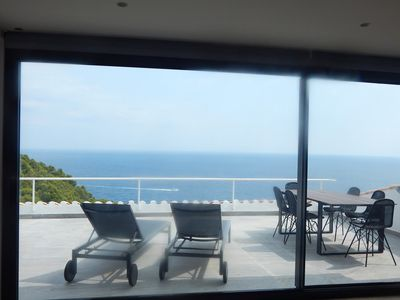 Photo for Apartment, with spectacular ocean view and communal pool HUTG-040546-19