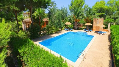 Photo for Countryside Villa with Private Pool and Gardens in a great location for exploring Fantastic Beaches!