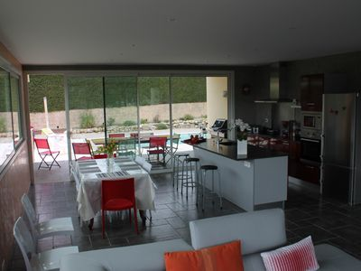 Photo for MAGNIFICENT VILLA IN PEACE IN THE PRIVATE POOL andwith RETRO COAST OF CANNES
