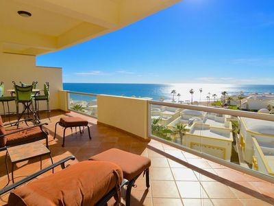Photo for Spectacular 2 Bedroom Condo on Sandy Beach at Las Palmas  Resort b-401