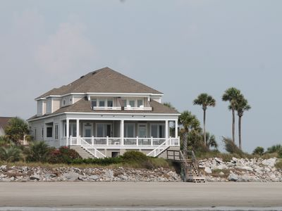 Photo for Awesome beachfront home with sunset views and close to pools beach club and golf