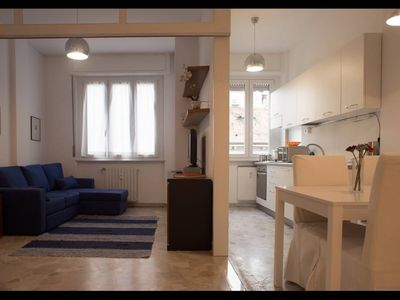 Photo for Apartment 1.1 km from the center of Milan with Internet, Washing machine (752648)