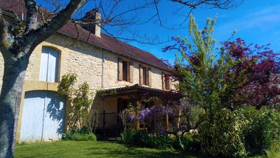 Photo for Dordogne Cottage with Pool, WiFi, Amazing Views. Pet Friendly, set in 9 Acres
