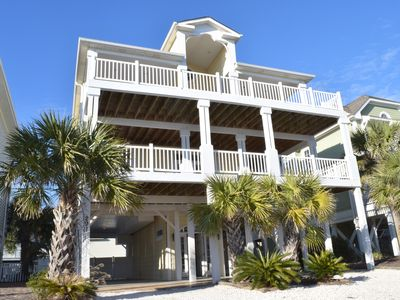 Photo for Breathe Taking 5 Bed/6Bath Private Pool.1 minute walk to the beach.