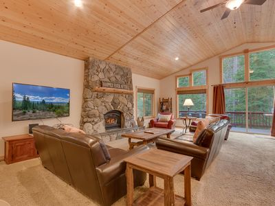 Photo for Sierra Sanctuary - 4 BR Home in Tahoe Donner with Hot Tub - Dogs Welcome!