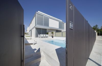 Photo for Modern semi-detached two-storey villa with private pool