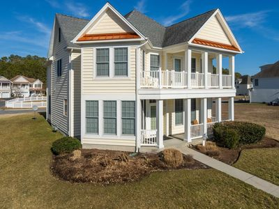Photo for 5BR, 5BA, 6 TVs, 2 Pools, Kayak Pier, Nature Trail, GOLF PACKAGES and much more