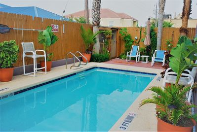 Communal Pool shared with only three other units