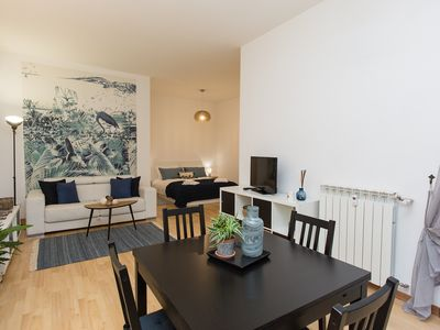 Photo for Blu Flamingo in Trastevere, Stylish Apartment