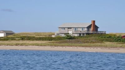 Photo for Imagine Private Beaches on BOTH Sides of your Vacation Cottage!