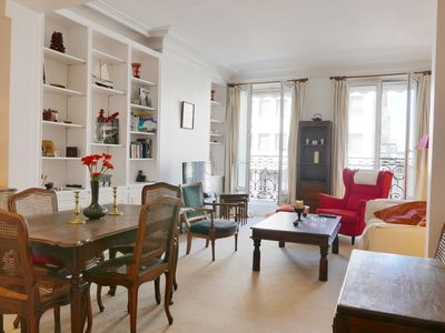 Photo for 1BR Stylish French Apartment -Elevator - Center Latin quarter