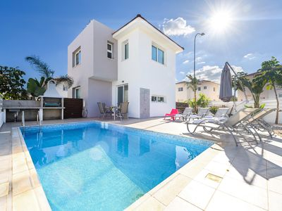 Photo for Located in a quiet area of Protaras  just few minutes' walk to excellent beaches