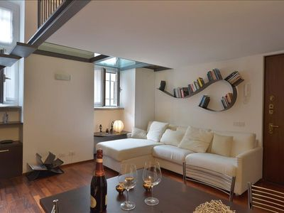 Photo for Lovely loft-style apt in Navigli