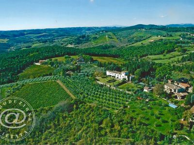 Photo for Villa in Chianti near Florence with a spectacular view