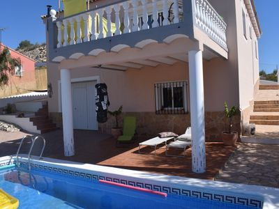 Photo for Beautiful Villa with private pool *FREE WIFI* Walking/City/Beach