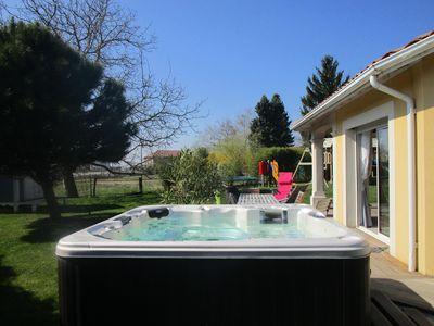 Photo for 30 minutes from Lyon, jacuzzi, superb playground