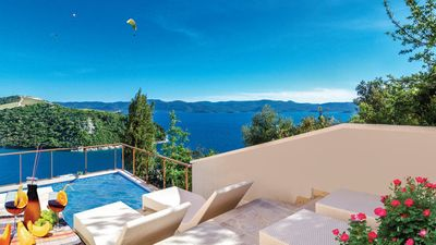 Photo for Holiday villa with a beautiful panoramic sea view