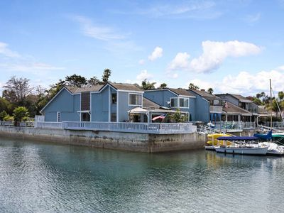 Photo for Mandalay Bay beautiful boat dock home on the water Harbor Haven .