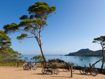 Photo for Views of the Med! Sunny + Deluxe Retreat on the Beach