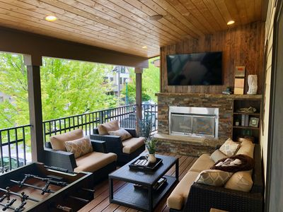 Photo for Incredible luxury townhome in downtown Whitefish