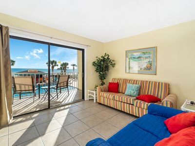 Photo for New Listing! Balcony views of the pool deck and endless ocean! Free WiFi!