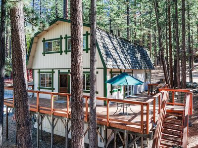 Photo for Secluded South Lake Tahoe Home for 8