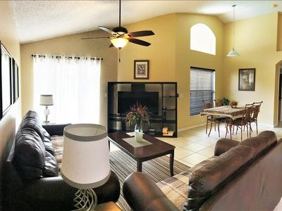 Photo for Relax in Luxury Disney Villa  w/ Golf Course, Southern Dunes, Haines City 4BR / 3BA : GAMEROOM