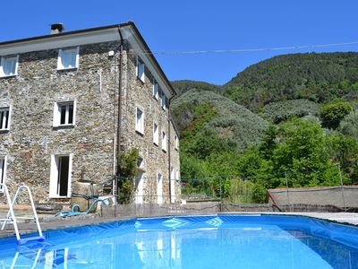 Photo for One bedroom Villa, sleeps 12 in Ghiare-Molino with Pool and WiFi