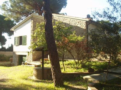 Photo for Villa with 3000 square meters of garden a few meters from the beach