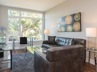 Photo for Fully Furnished 1BR | Kitchen & Laundry | Pool | Mountain View