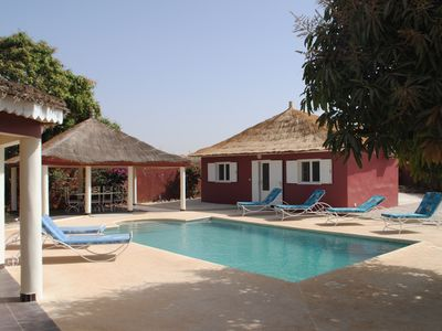 Photo for Authentic villa with pool near the sea and the lagoon