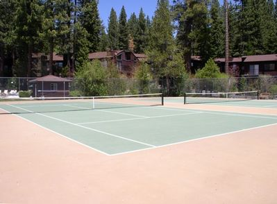 Tennis Courts at St. Francis
