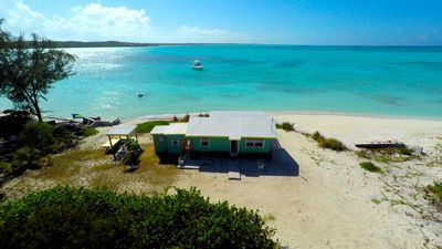Photo for Secluded beach house on Hooper's Bay, Great Exuma, The Bahamas