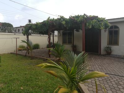 Photo for 3 bedroom secured fully furnished bungalow for short term rental