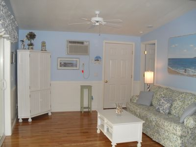 Photo for Quiet Location ~ Clean, Coastal Cottage 2 Bedrm, Sunroom, free Wifi & Laundry