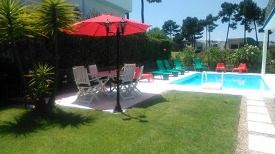Photo for VILLA Palmela Resort 4 * - Privative Pool - Garden - Beaches - 25 mn Lisbon