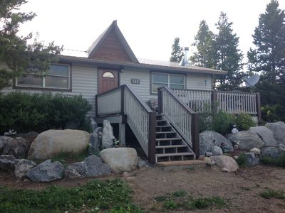 Photo for Affordable clean and cozy 3 bedroom 1 bathroom cabin in Grand Lake, CO free WiFi