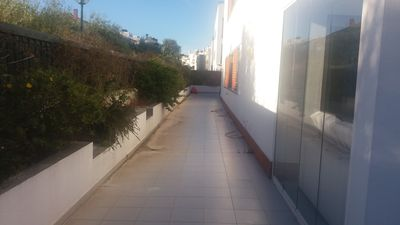 Photo for Apartment in Queijas, with terrace 180m2, barbecue