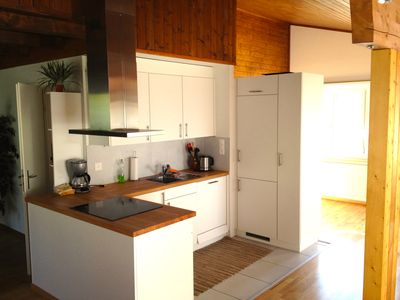 A full functioning kitchen