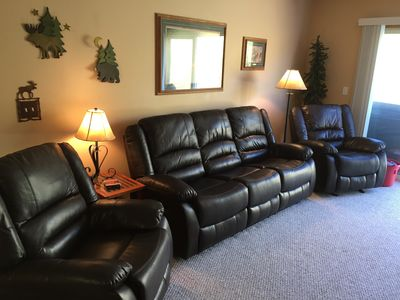 Recliner couch and recliners