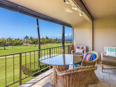 Photo for Ocean Views, sleeps six, bright and airy with fabulous lanai
