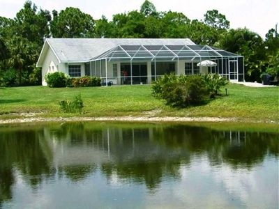 Photo for Bonita Springs Florida excl. Holiday bungalow with pool, only 3 min. To the beach