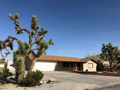 Photo for Great Location + Views! Comfy Vaca Home w/ central A/C In Hi-Desert!