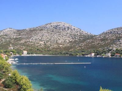Photo for Studio flat with terrace and sea view Skrivena Luka (Lastovo)