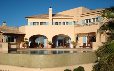 Photo for Villa with Large Pool and Panoramic Sea - and Mountain Views