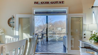 Photo for Large Lakefront Home W/Swim Deck and Boat Slip in a Deep Water, No Wake Cove