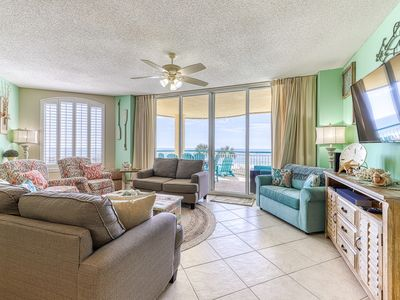 Photo for Gulf Front Condo w/ Tons Of Resort Amenities, Close To Entertainment